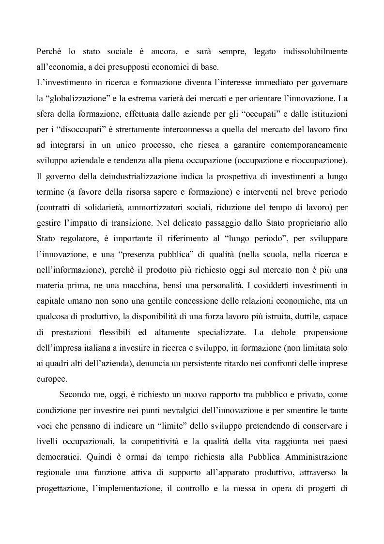 Anteprima della tesi: Evoluzioni delle Relazioni industriali e gestione delle risorse umane nelle pubbliche Amministrazioni: il caso Giunta regionale Abruzzo, Pagina 9