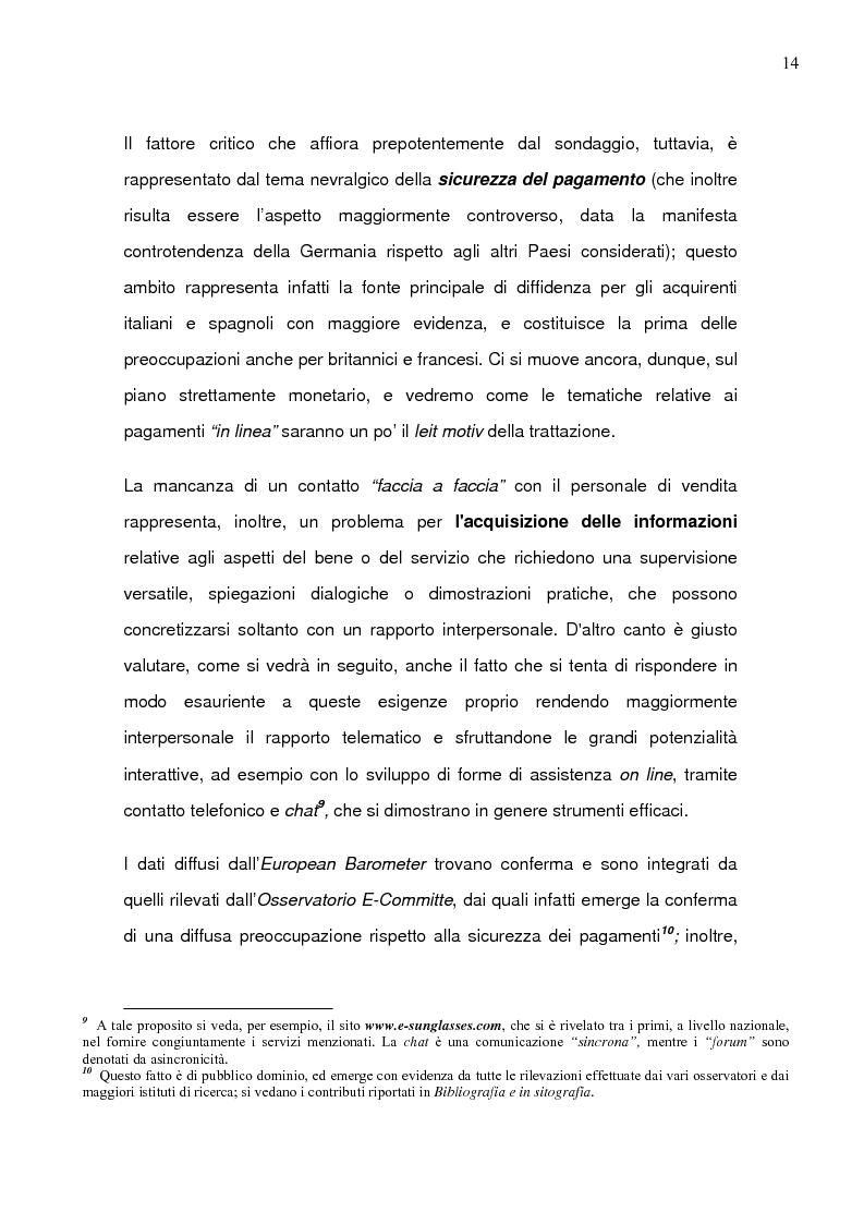 Anteprima della tesi: Il caso Ebay: fattori critici di successo, Pagina 11