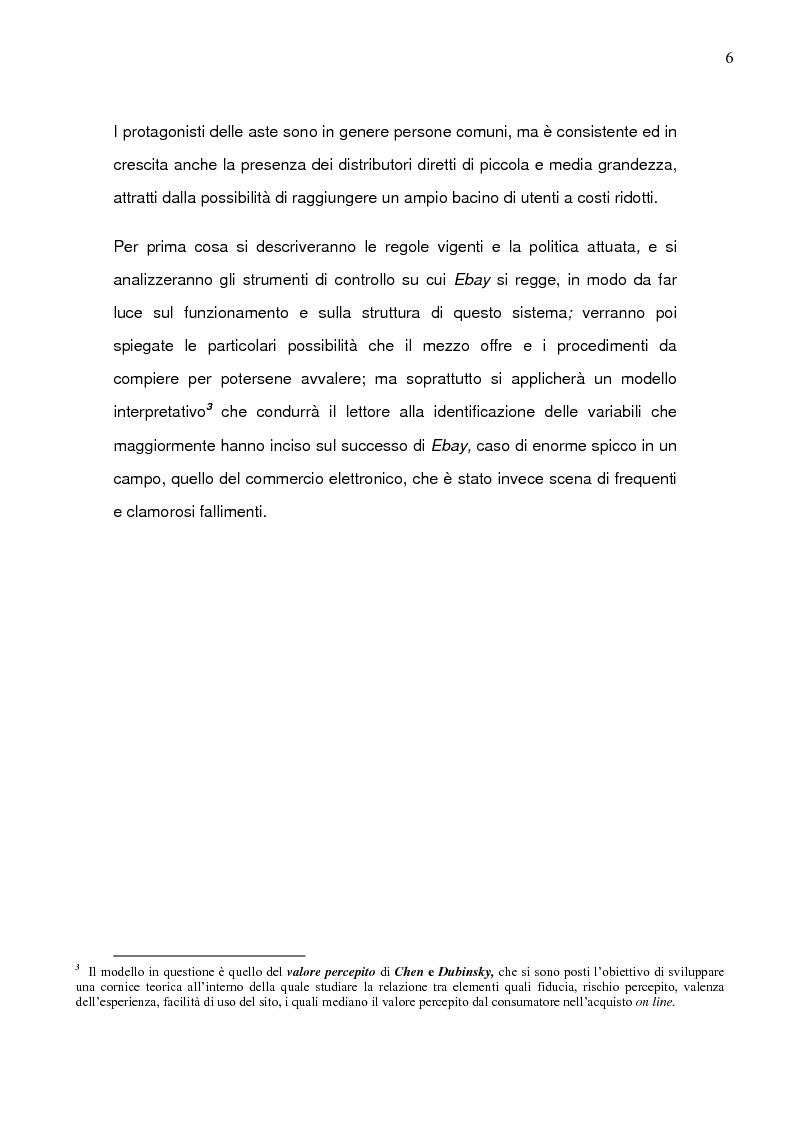 Anteprima della tesi: Il caso Ebay: fattori critici di successo, Pagina 3