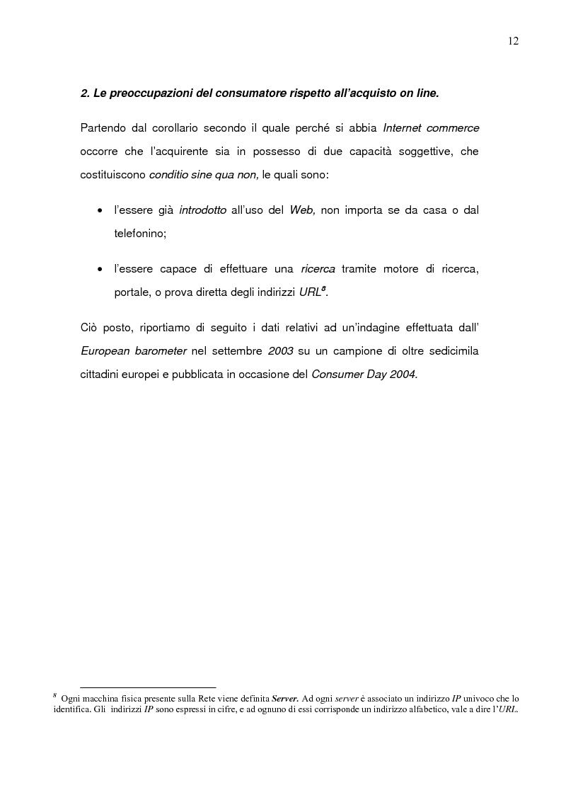 Anteprima della tesi: Il caso Ebay: fattori critici di successo, Pagina 9