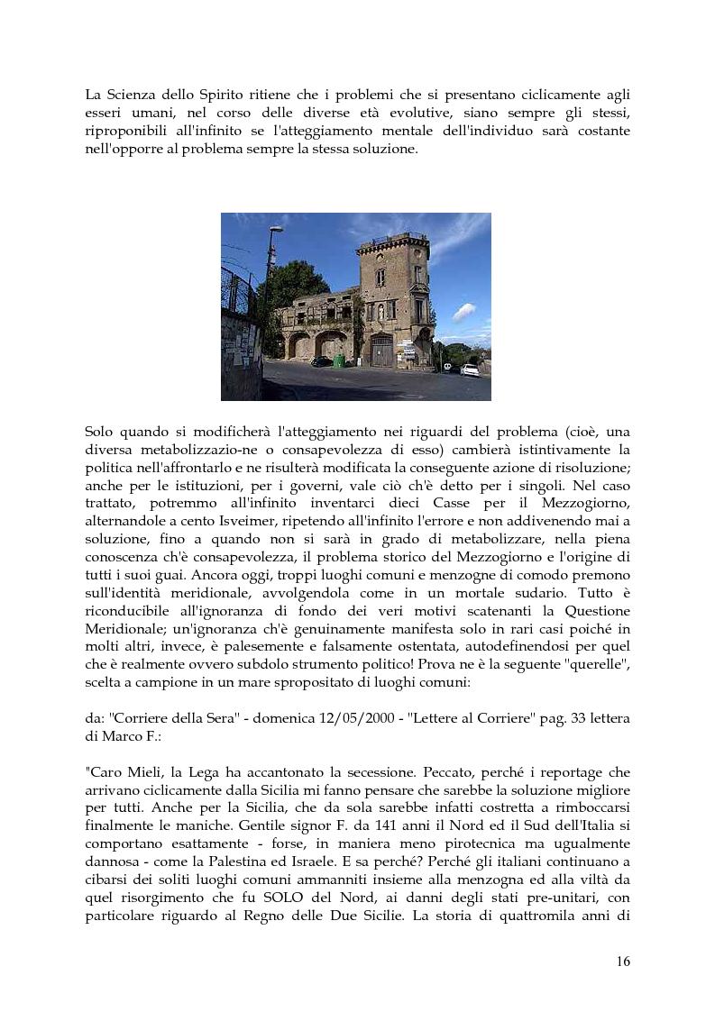 Anteprima della tesi: Vita, morte e ''miracoli'' dell'Economia e del (sotto) Sviluppo in Campania-1860/2004, Pagina 12