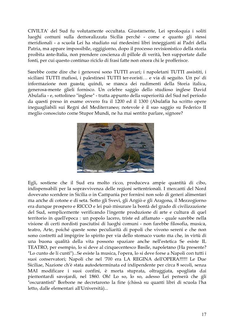 Anteprima della tesi: Vita, morte e ''miracoli'' dell'Economia e del (sotto) Sviluppo in Campania-1860/2004, Pagina 13