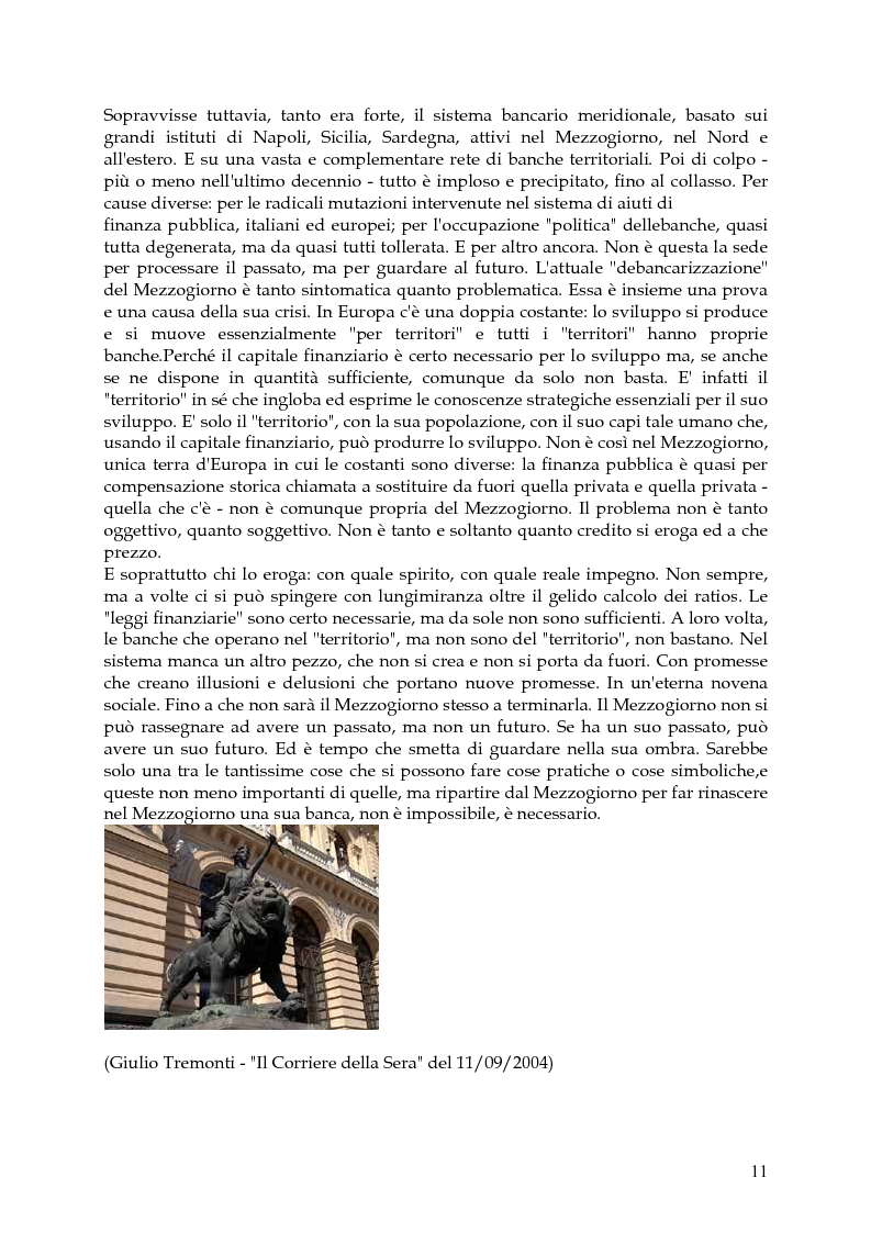 Anteprima della tesi: Vita, morte e ''miracoli'' dell'Economia e del (sotto) Sviluppo in Campania-1860/2004, Pagina 7