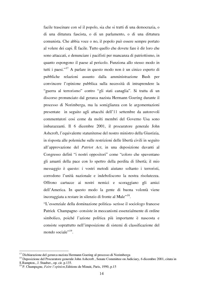 Anteprima della tesi: Disinformazione di guerra. Il caso Al Jazeera, Pagina 10