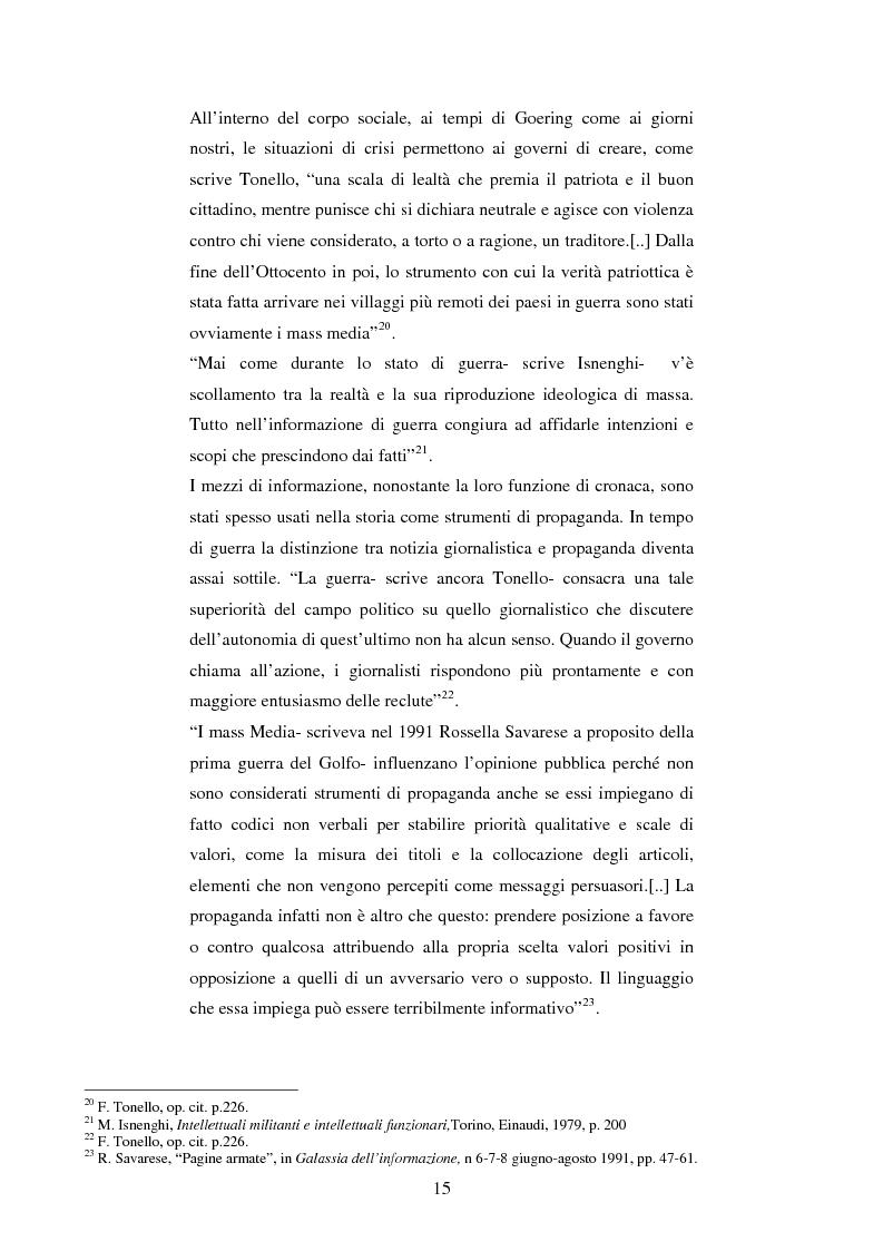 Anteprima della tesi: Disinformazione di guerra. Il caso Al Jazeera, Pagina 11
