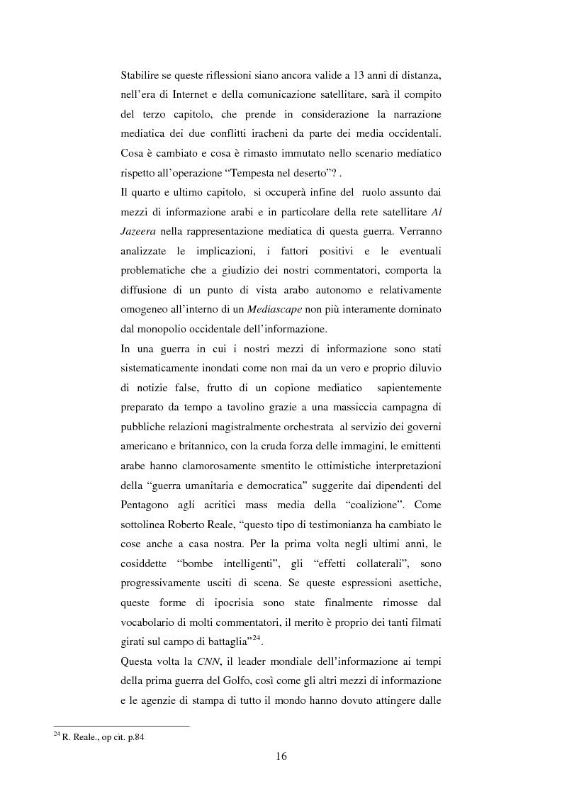 Anteprima della tesi: Disinformazione di guerra. Il caso Al Jazeera, Pagina 12