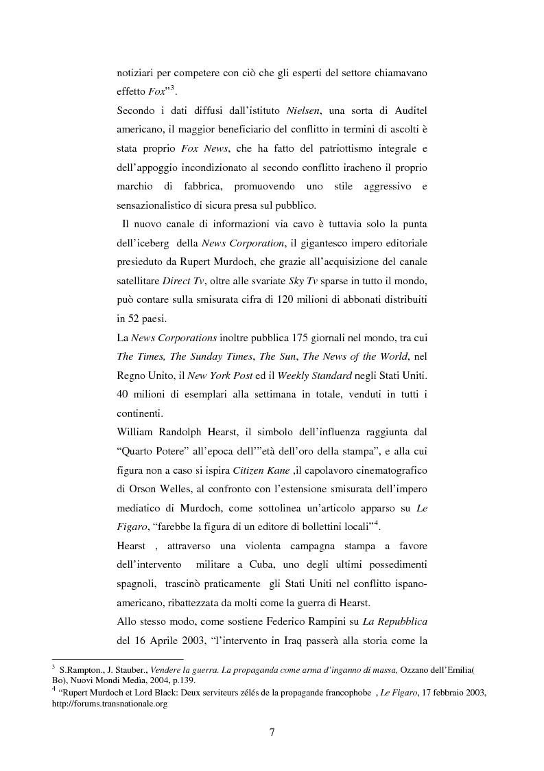 Anteprima della tesi: Disinformazione di guerra. Il caso Al Jazeera, Pagina 3