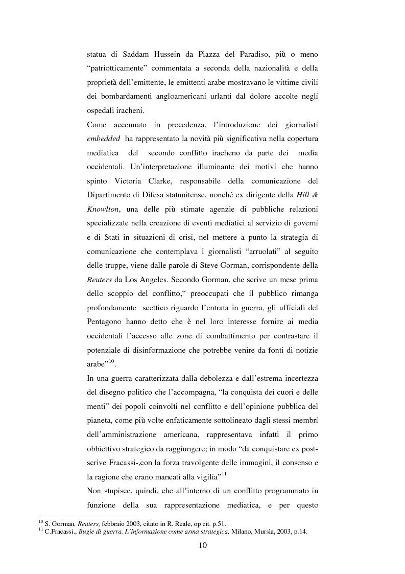Anteprima della tesi: Disinformazione di guerra. Il caso Al Jazeera, Pagina 6