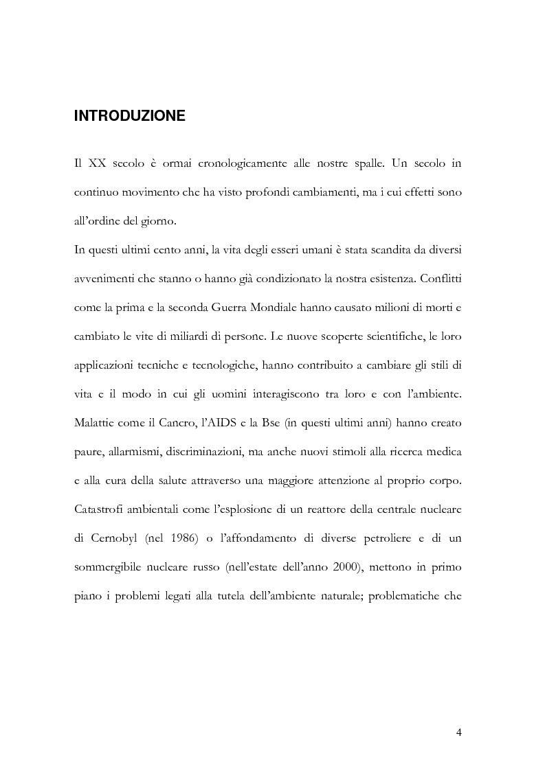 Anteprima della tesi: I nuovi paradigmi della conoscenza psicologica nel pensiero di Fritjof Capra, Pagina 1