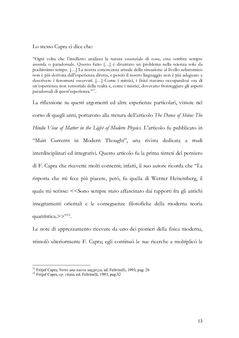 Anteprima della tesi: I nuovi paradigmi della conoscenza psicologica nel pensiero di Fritjof Capra, Pagina 10