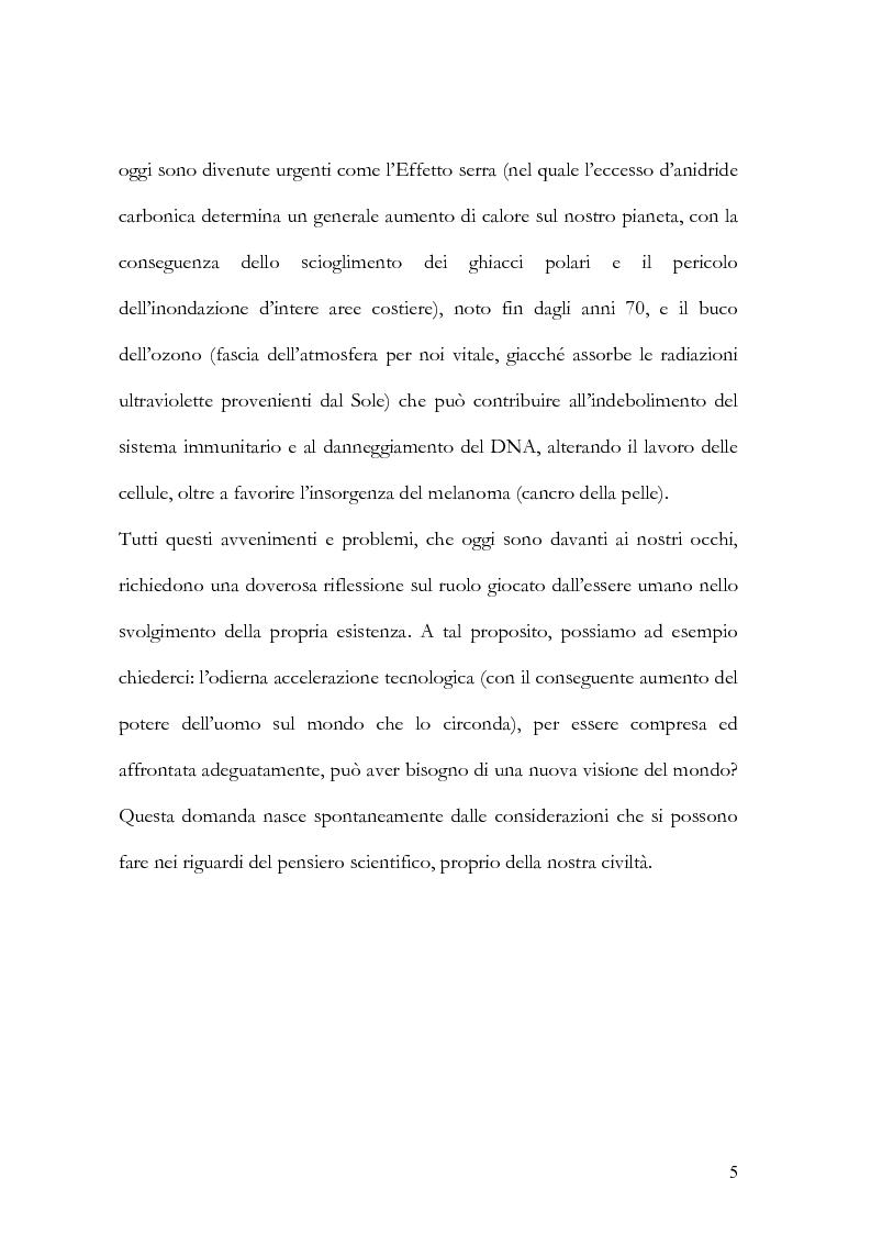 Anteprima della tesi: I nuovi paradigmi della conoscenza psicologica nel pensiero di Fritjof Capra, Pagina 2