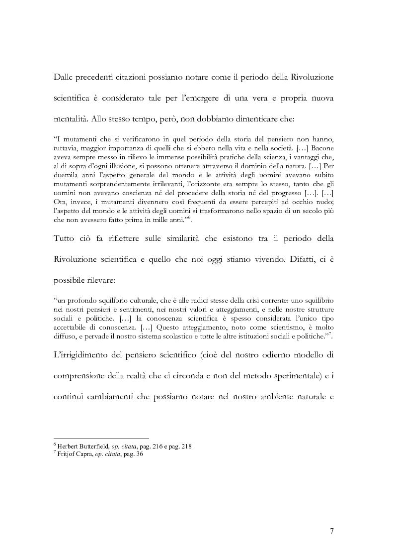 Anteprima della tesi: I nuovi paradigmi della conoscenza psicologica nel pensiero di Fritjof Capra, Pagina 4