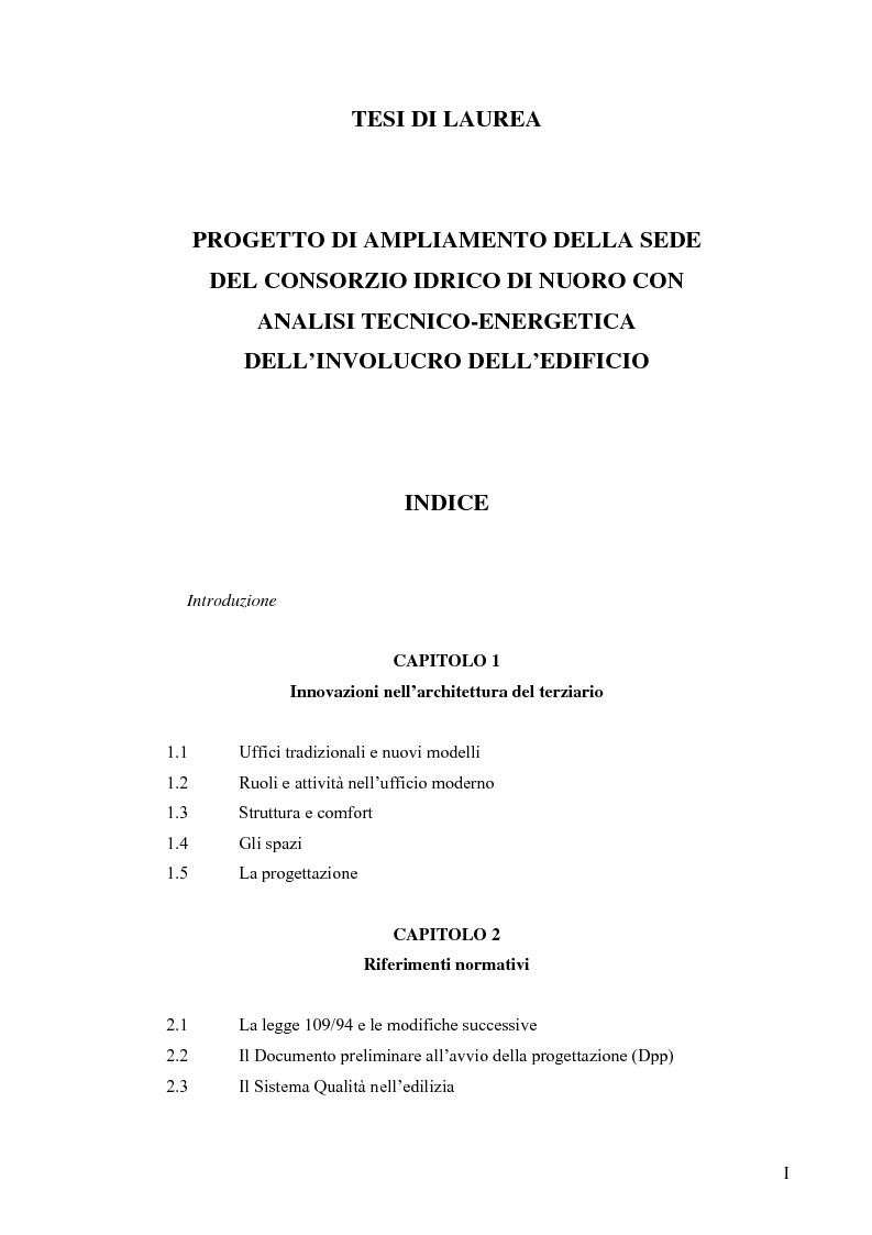 Progetto di ampliamento della sede del consorzio idrico di for Costo della costruzione dell edificio