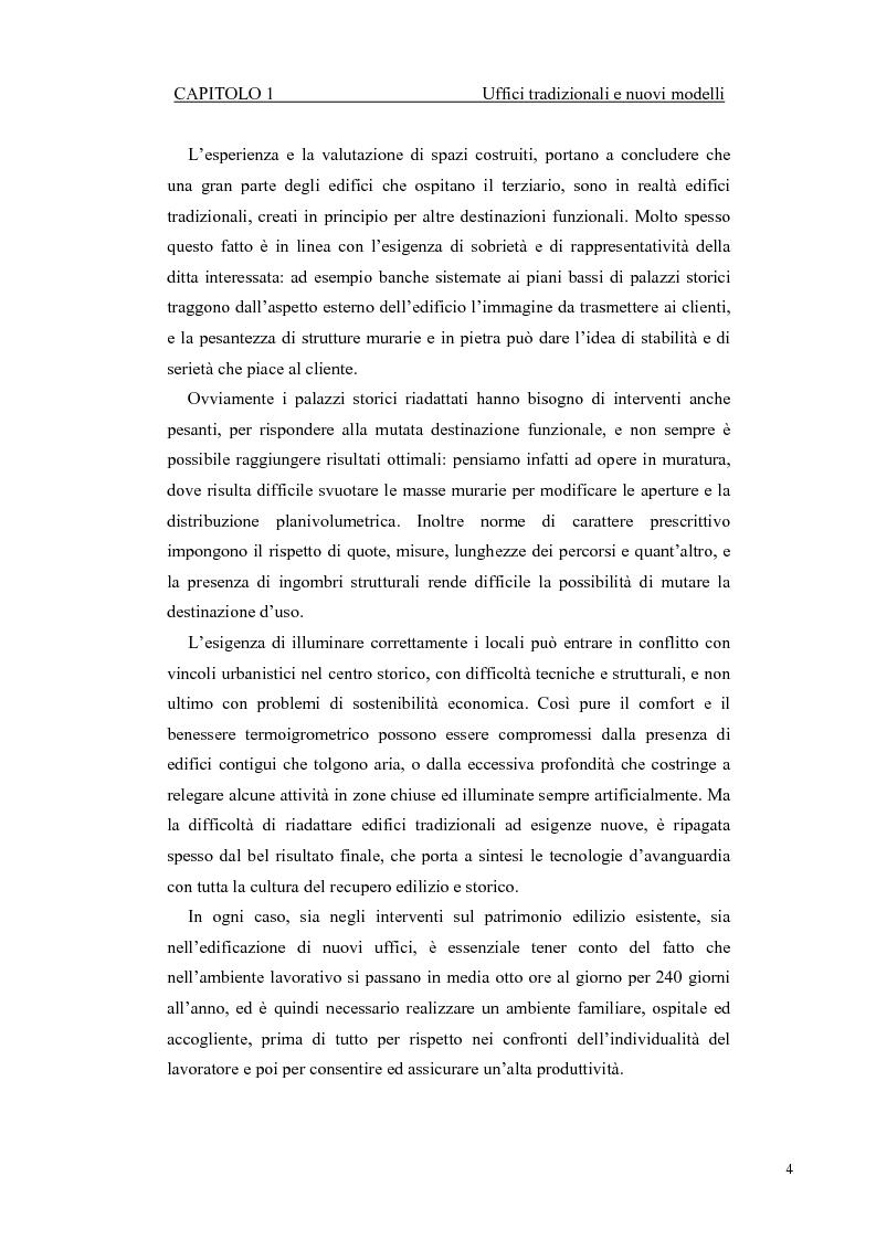 Anteprima della tesi: Progetto di ampliamento della Sede del Consorzio Idrico di Nuoro con Analisi tecnico-energetica dell'involucro dell'edificio, Pagina 4