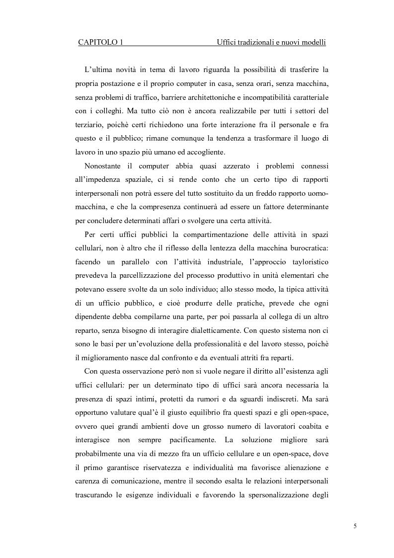 Anteprima della tesi: Progetto di ampliamento della Sede del Consorzio Idrico di Nuoro con Analisi tecnico-energetica dell'involucro dell'edificio, Pagina 5