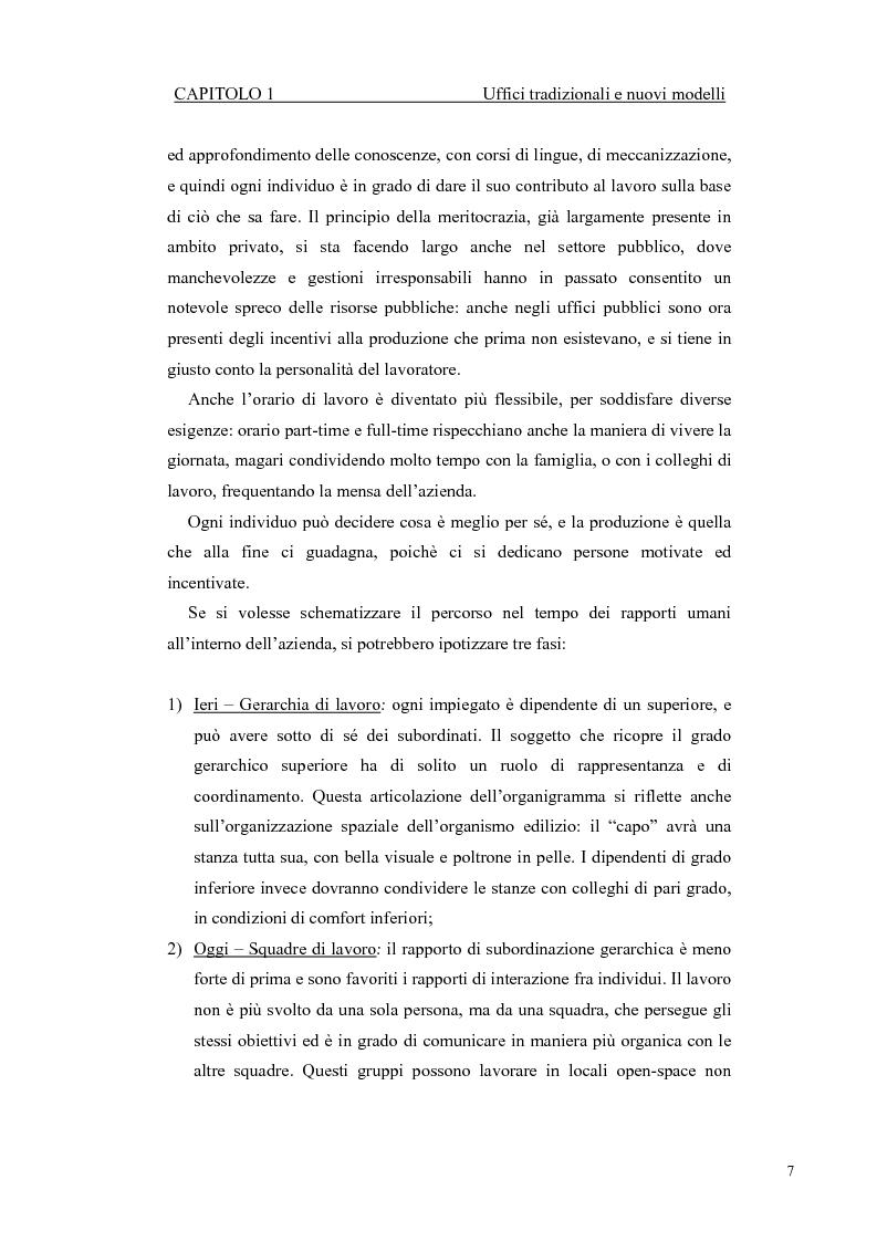 Anteprima della tesi: Progetto di ampliamento della Sede del Consorzio Idrico di Nuoro con Analisi tecnico-energetica dell'involucro dell'edificio, Pagina 7