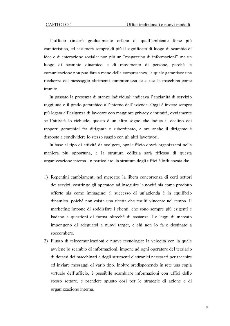 Anteprima della tesi: Progetto di ampliamento della Sede del Consorzio Idrico di Nuoro con Analisi tecnico-energetica dell'involucro dell'edificio, Pagina 9