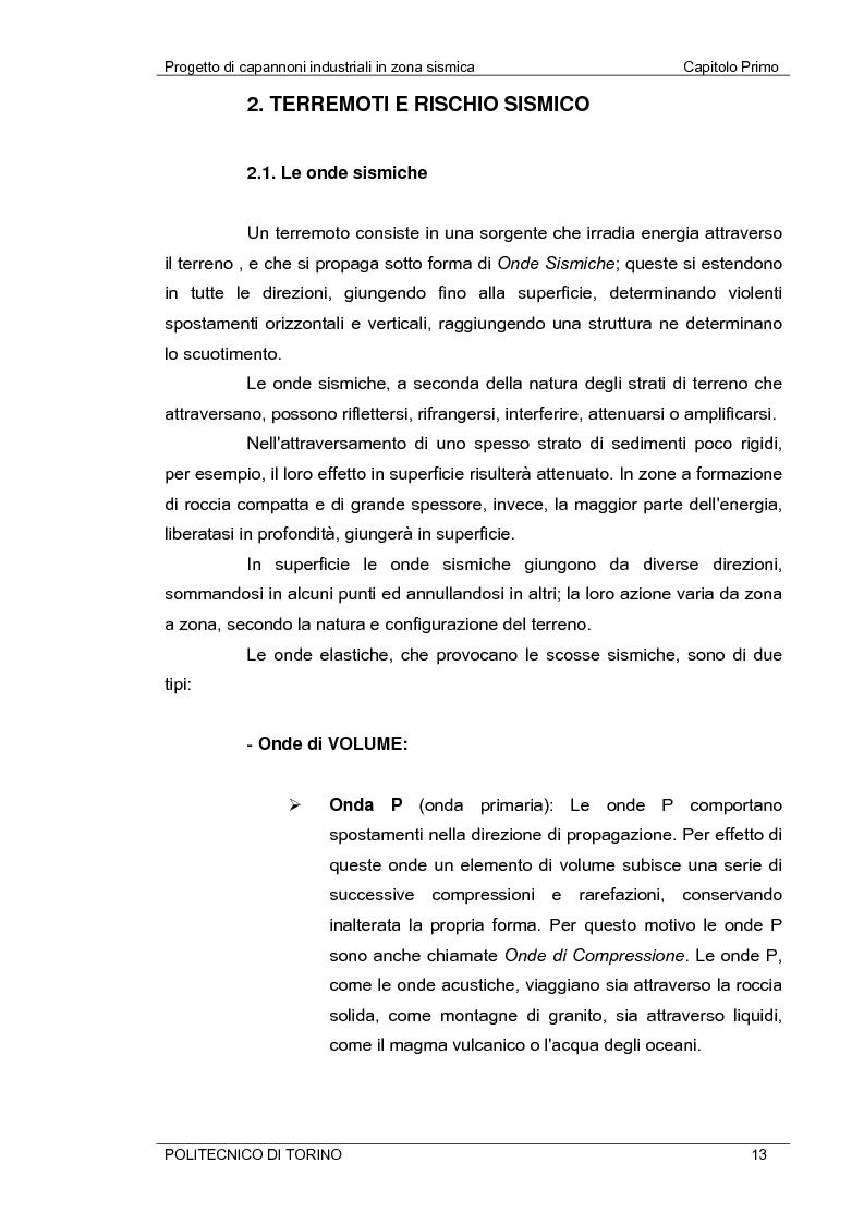 Anteprima della tesi: Progetto di capannoni industriali in zona sismica secondo nuova normativa, Pagina 13