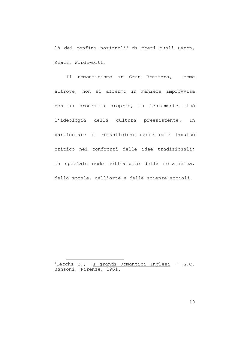 Anteprima della tesi: Itinerari simbolici nel Rime of Ancient Mariner, Pagina 6