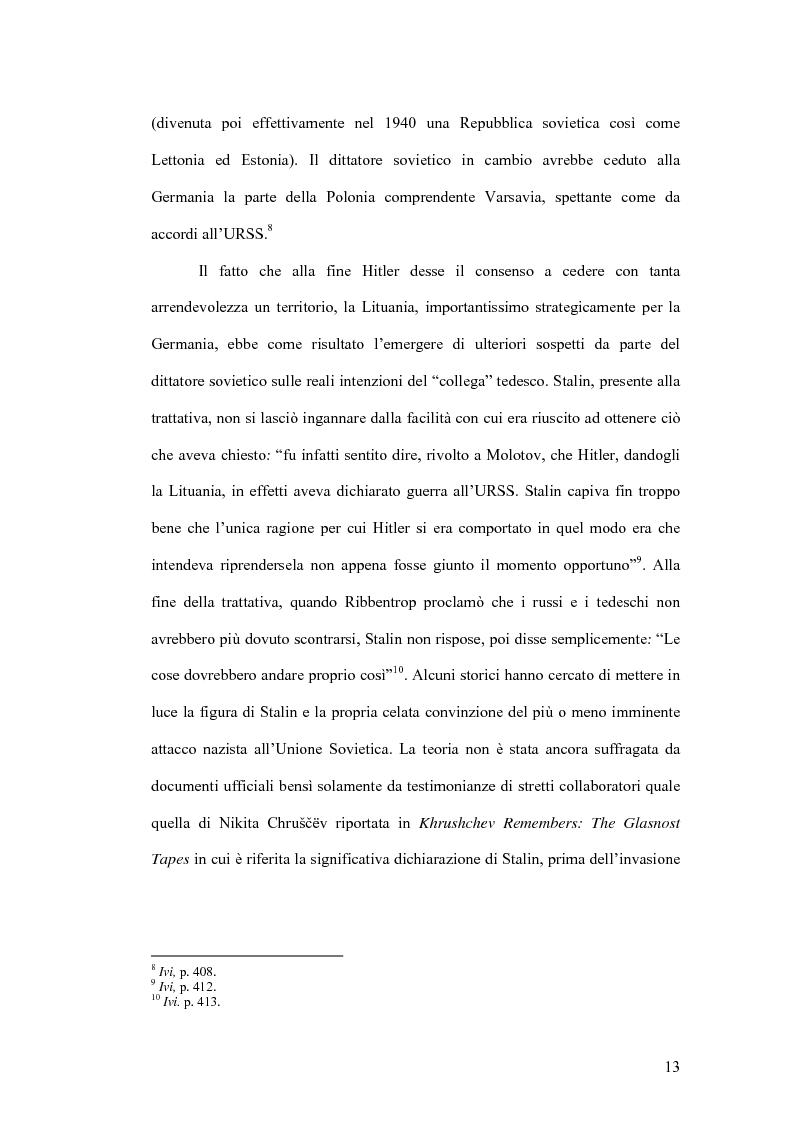 Anteprima della tesi: I prigionieri italiani in Unione Sovietica tra storiografia e fonti d'archivio, Pagina 9