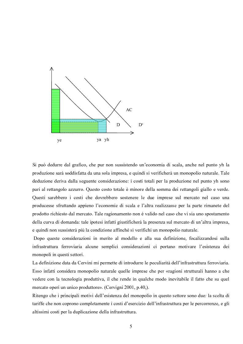 Anteprima della tesi: La liberalizzazione del settore ferroviario e le attività di manovra in questo settore, Pagina 4