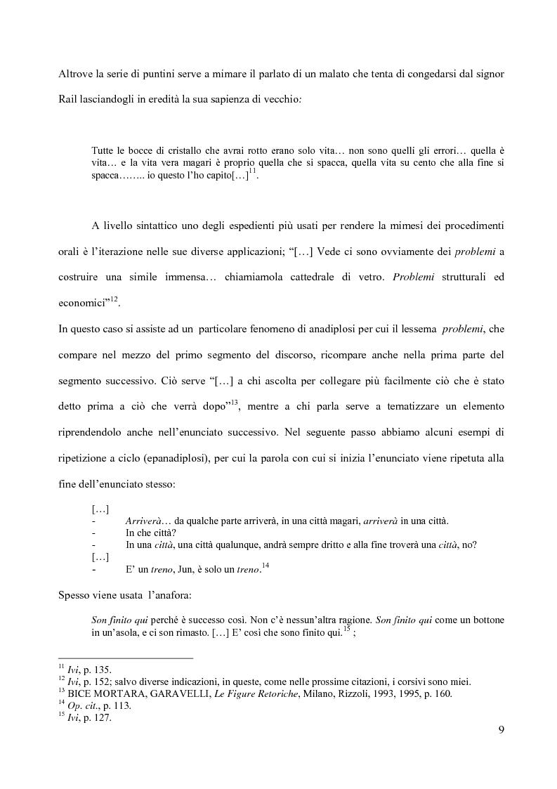 Anteprima della tesi: Il piacere della lettura: evocazioni letterarie e vocazione musicale. La narrativa di Alessandro Baricco, Pagina 9