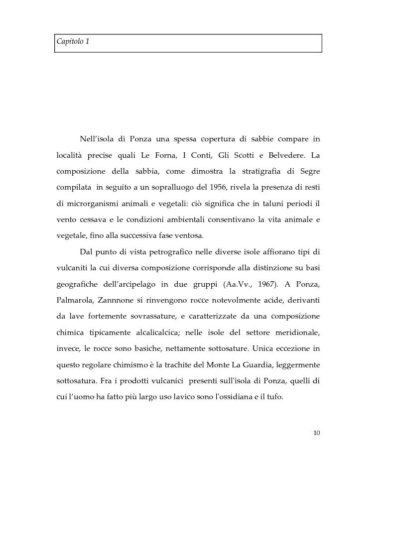Anteprima della tesi: Memorie d'isola. Abitanti, turisti e confinati a Ponza., Pagina 15