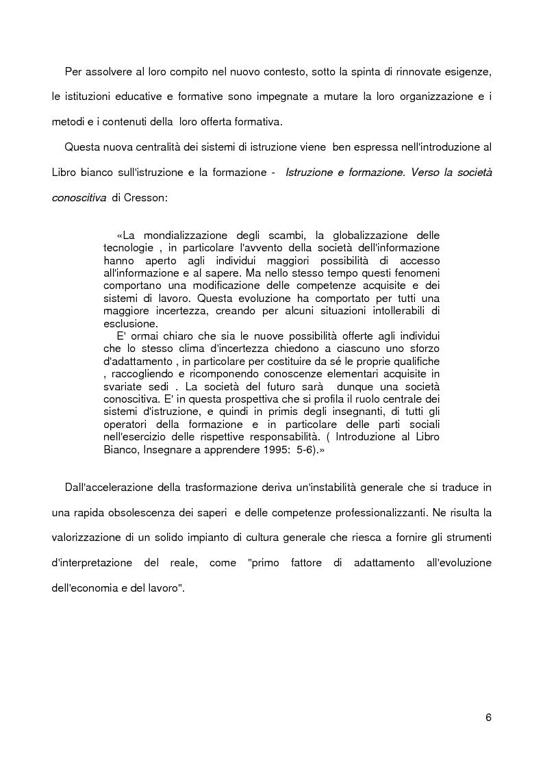 Anteprima della tesi: La nascita dell'agricoltura e le sue conseguenze sulla differenziazione dei popoli. Costruzione di un'unità didattica., Pagina 3