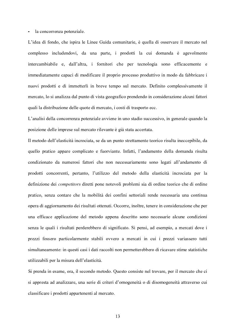 Anteprima della tesi: Strategia d'impresa e analisi di settore: il caso Michele Chiarlo S.r.l., Pagina 13