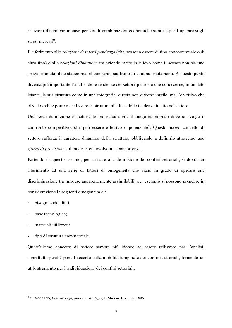 Anteprima della tesi: Strategia d'impresa e analisi di settore: il caso Michele Chiarlo S.r.l., Pagina 7
