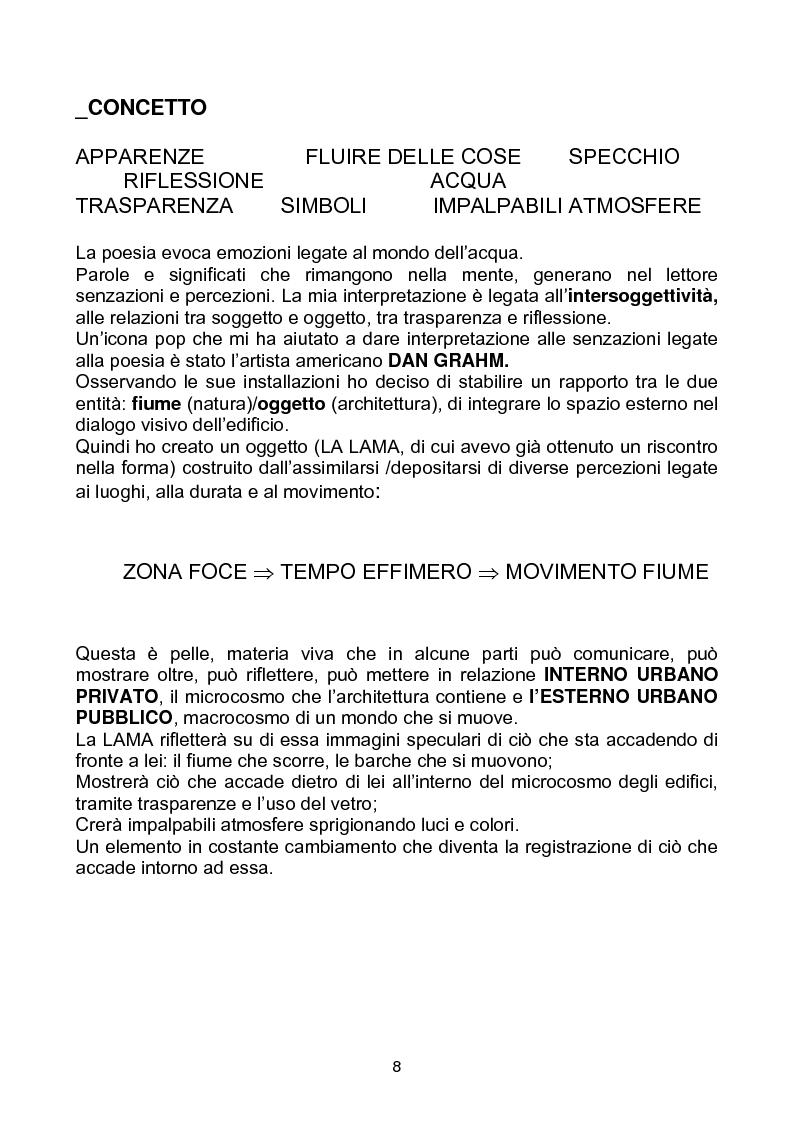 """Anteprima della tesi: Yacht Club e Centro Velico """"Lunae"""", Pagina 4"""