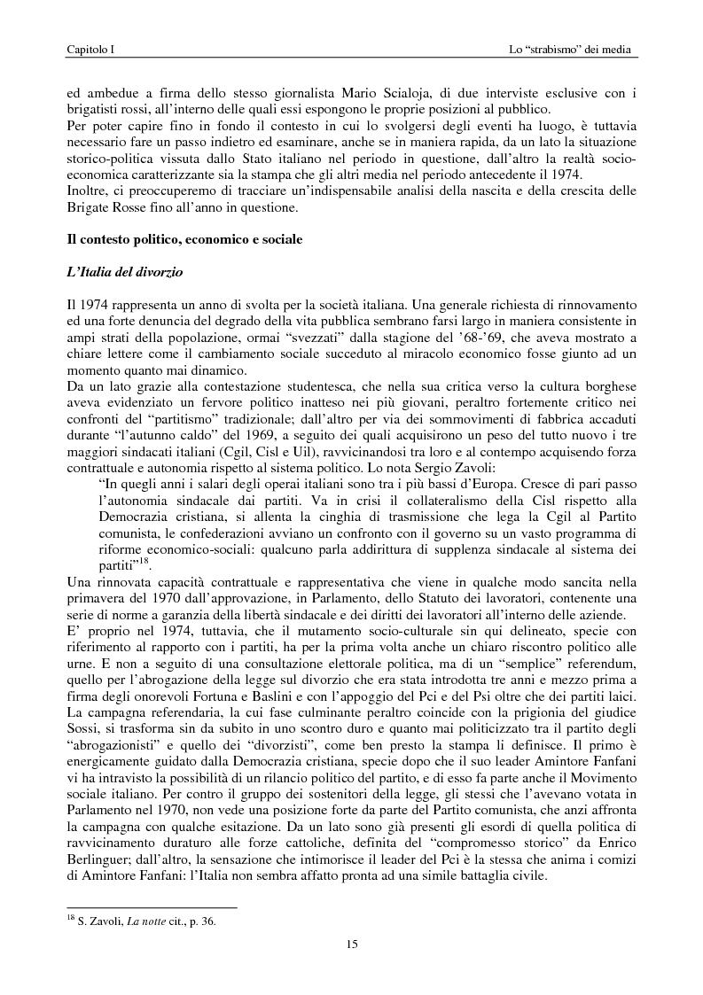 Anteprima della tesi: Quando i media staccano la spina. Storia del blackout informativo durante gli ''anni di piombo'', Pagina 10
