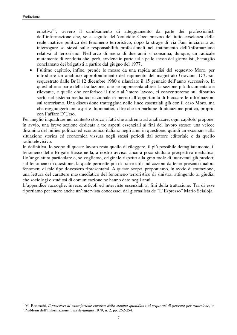 Anteprima della tesi: Quando i media staccano la spina. Storia del blackout informativo durante gli ''anni di piombo'', Pagina 2