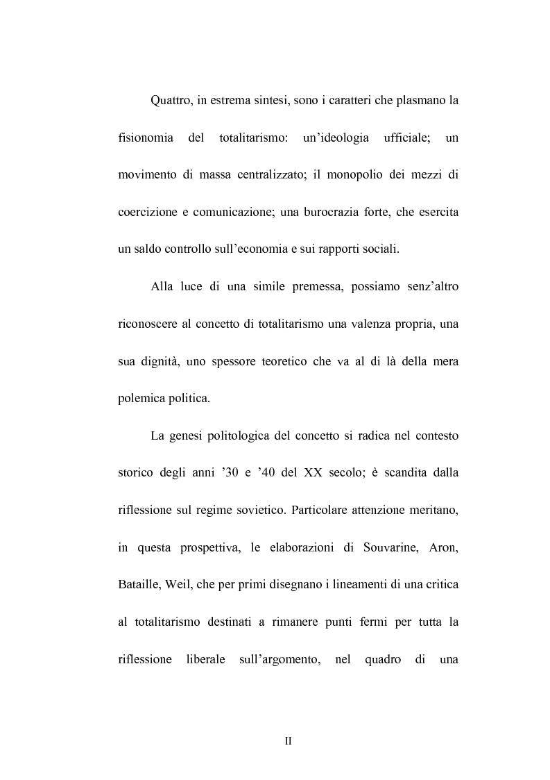 Anteprima della tesi: Totalitarismo: un dibattito aperto, Pagina 2