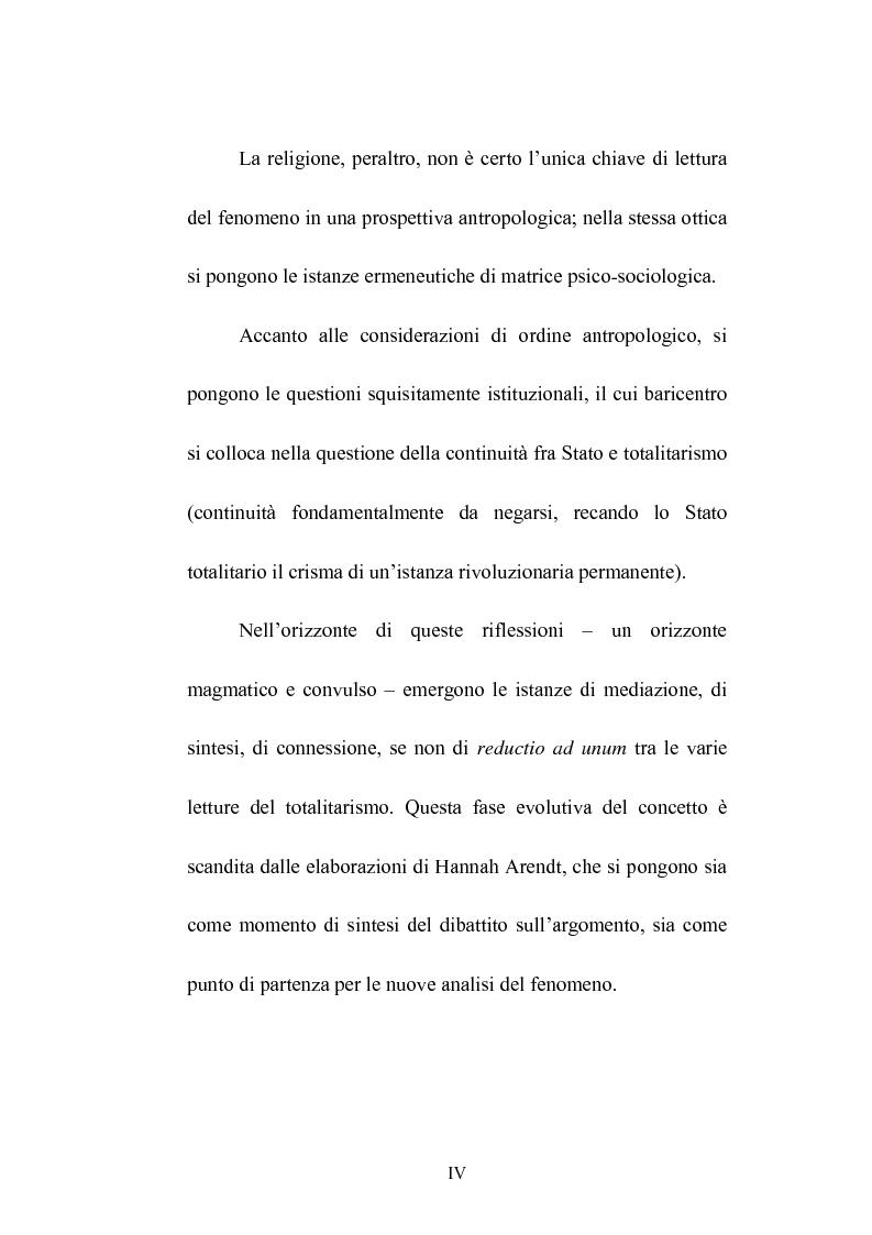 Anteprima della tesi: Totalitarismo: un dibattito aperto, Pagina 4