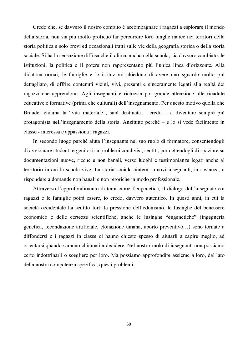 Anteprima della tesi: Eugenetica e politica nella prima metà del XX secolo, Pagina 2