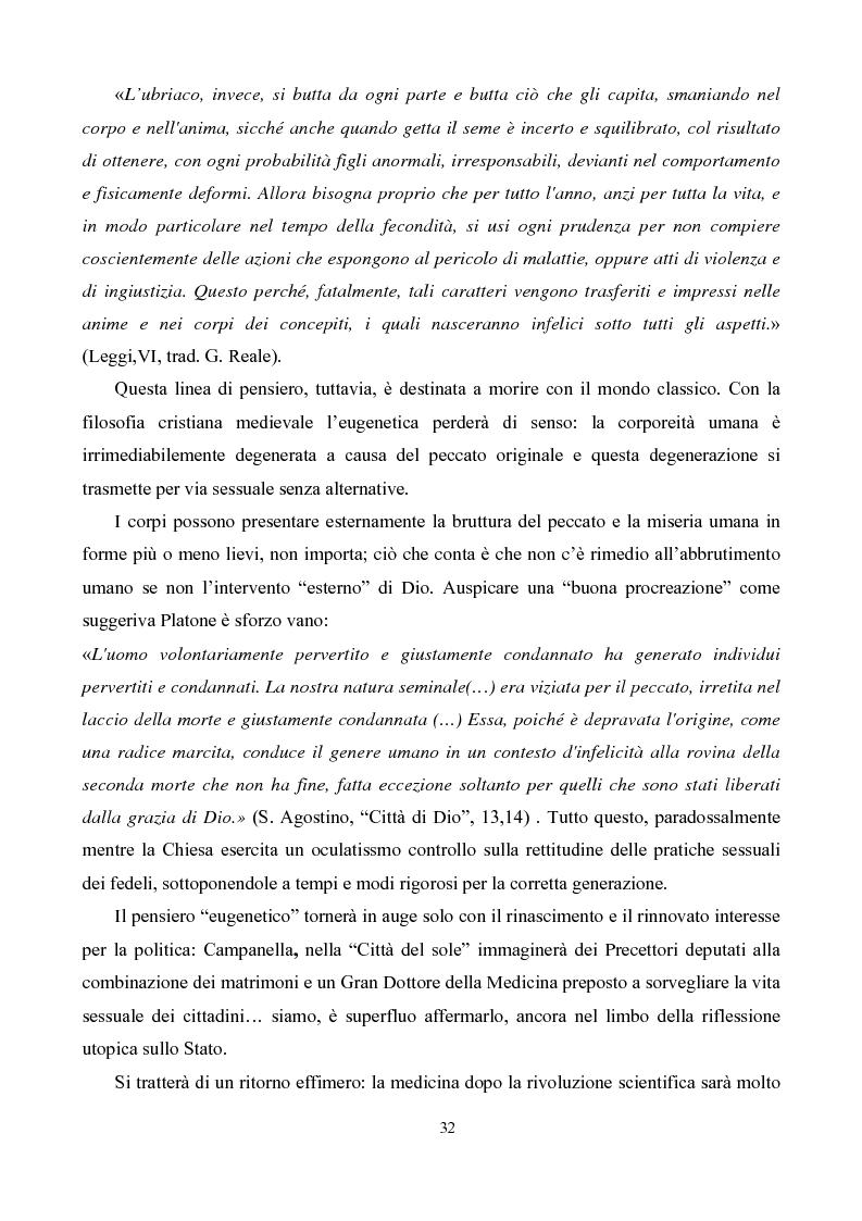 Anteprima della tesi: Eugenetica e politica nella prima metà del XX secolo, Pagina 4