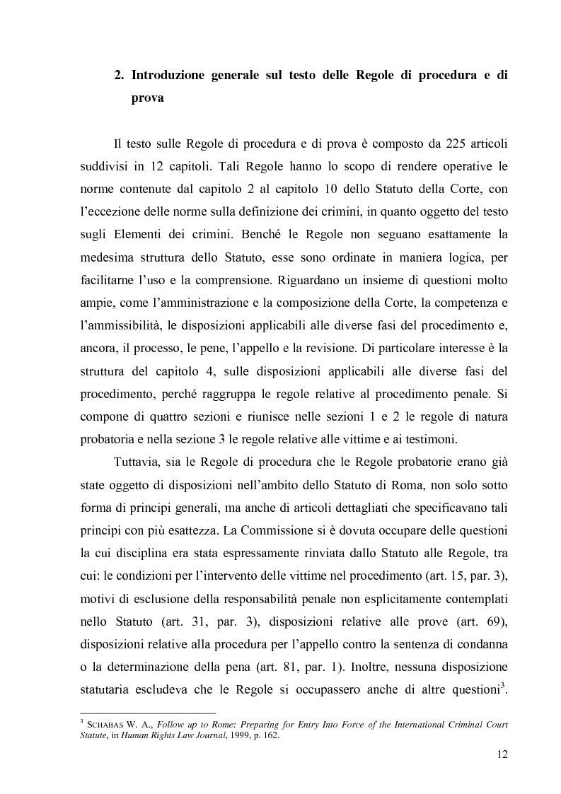 Anteprima della tesi: La Commissione preparatoria della Corte penale internazionale, Pagina 10