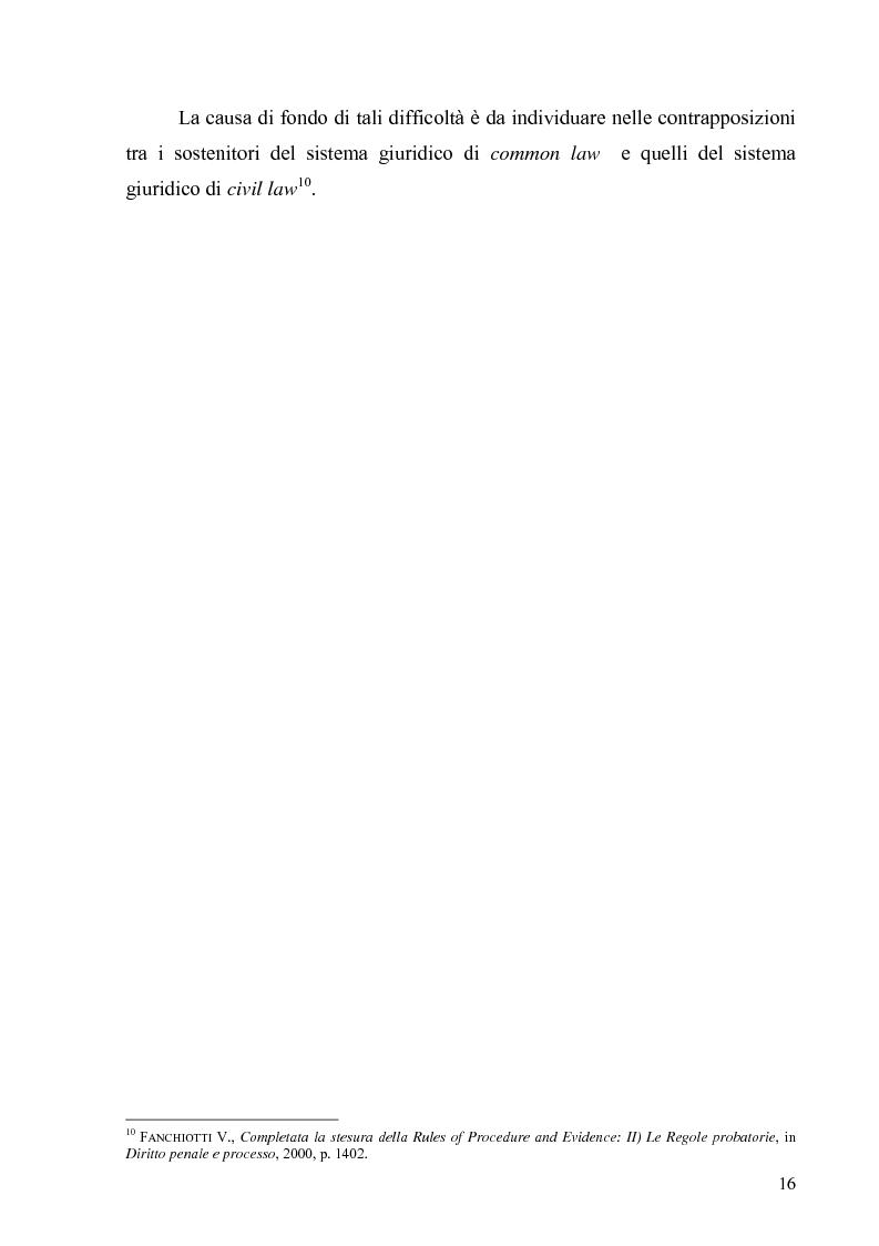 Anteprima della tesi: La Commissione preparatoria della Corte penale internazionale, Pagina 14