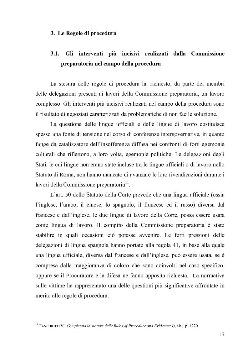Anteprima della tesi: La Commissione preparatoria della Corte penale internazionale, Pagina 15