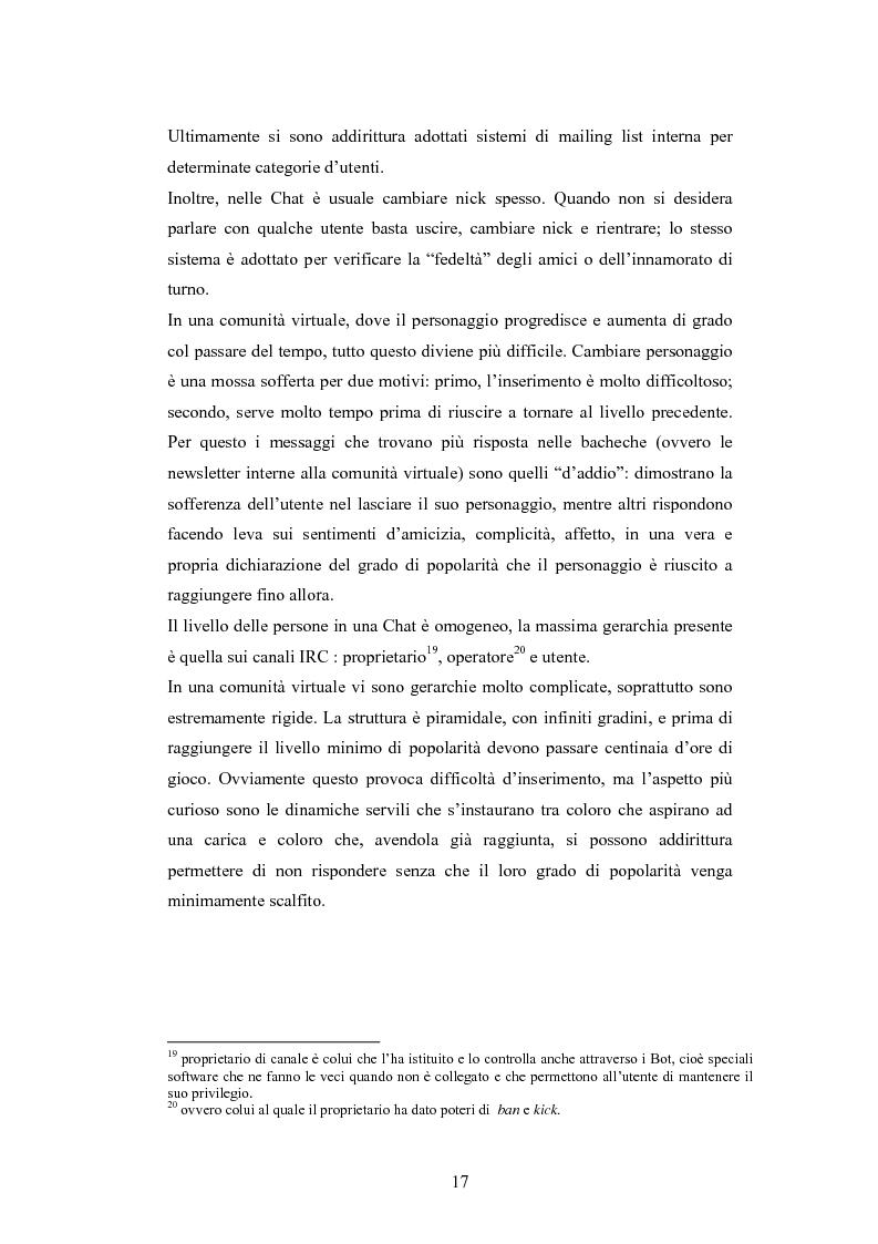 Anteprima della tesi: Analisi di una comunità virtuale: il caso Extremelot, Pagina 13