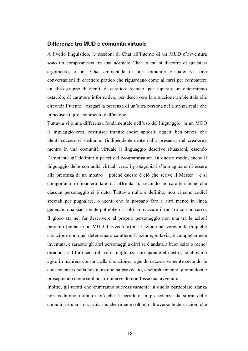 Anteprima della tesi: Analisi di una comunità virtuale: il caso Extremelot, Pagina 14