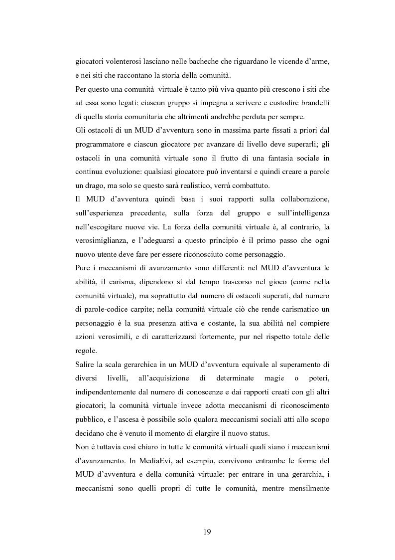 Anteprima della tesi: Analisi di una comunità virtuale: il caso Extremelot, Pagina 15