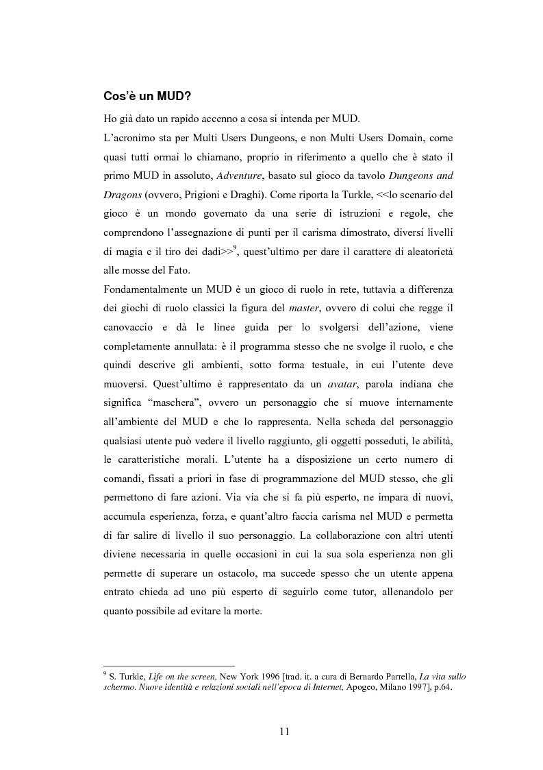 Anteprima della tesi: Analisi di una comunità virtuale: il caso Extremelot, Pagina 7