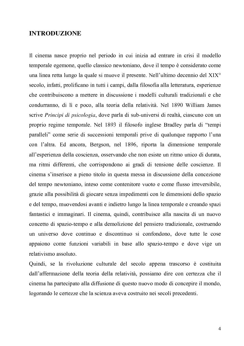 Anteprima della tesi: Lo spazio e il tempo nel cinema di Alain Resnais: Hiroshima mon amour, L'année dernière a Marienbad e Muriel., Pagina 1