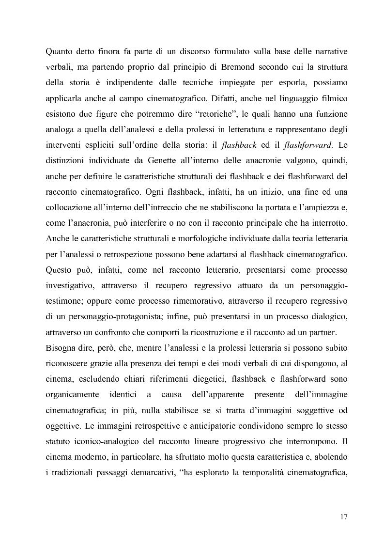 Anteprima della tesi: Lo spazio e il tempo nel cinema di Alain Resnais: Hiroshima mon amour, L'année dernière a Marienbad e Muriel., Pagina 14