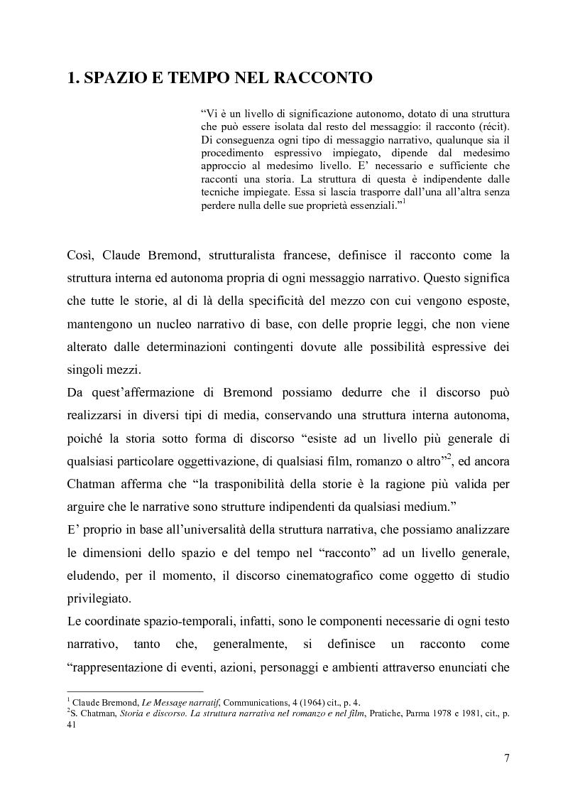 Anteprima della tesi: Lo spazio e il tempo nel cinema di Alain Resnais: Hiroshima mon amour, L'année dernière a Marienbad e Muriel., Pagina 4