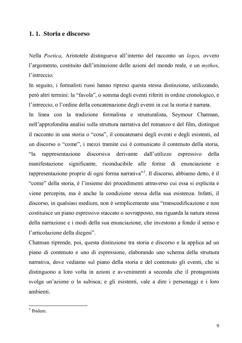 Anteprima della tesi: Lo spazio e il tempo nel cinema di Alain Resnais: Hiroshima mon amour, L'année dernière a Marienbad e Muriel., Pagina 6