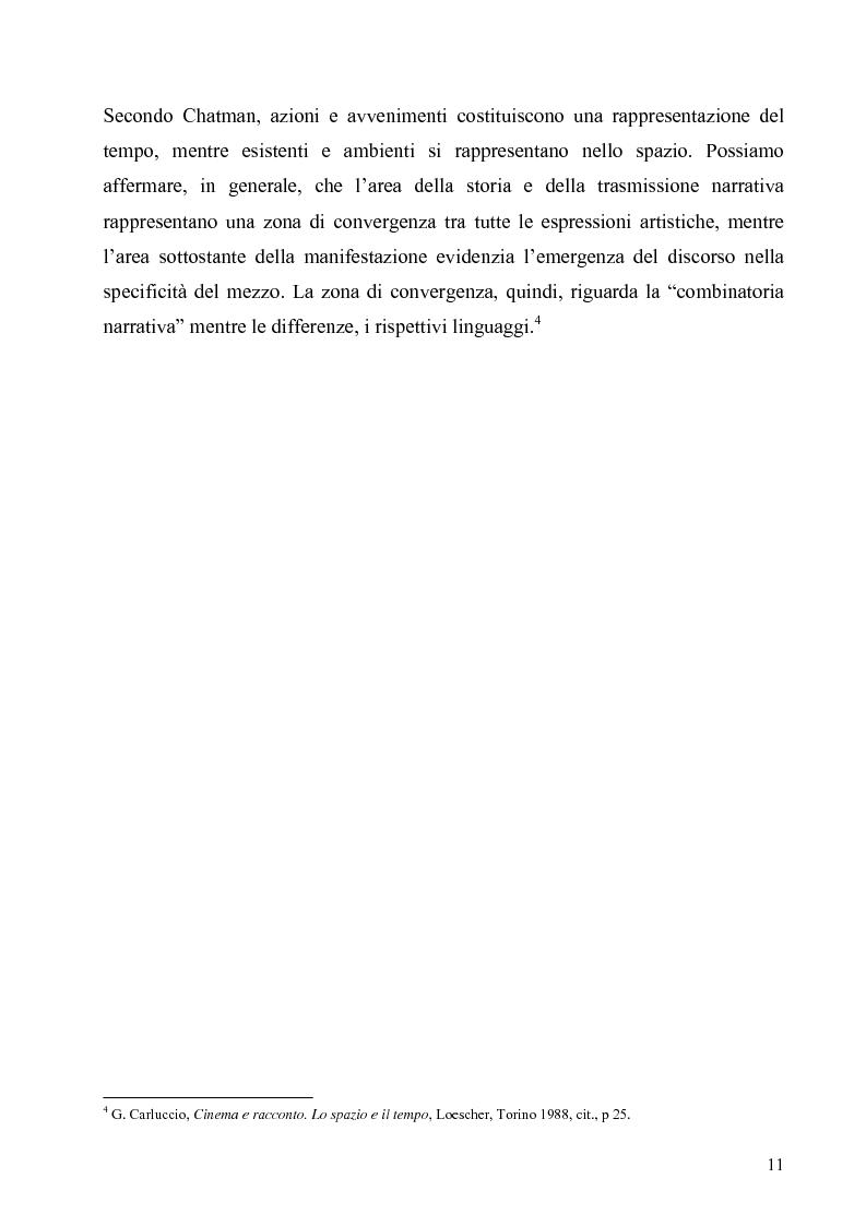 Anteprima della tesi: Lo spazio e il tempo nel cinema di Alain Resnais: Hiroshima mon amour, L'année dernière a Marienbad e Muriel., Pagina 8
