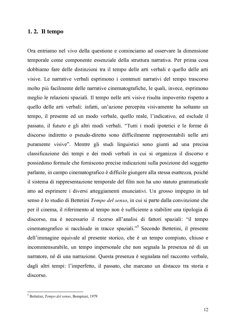 Anteprima della tesi: Lo spazio e il tempo nel cinema di Alain Resnais: Hiroshima mon amour, L'année dernière a Marienbad e Muriel., Pagina 9